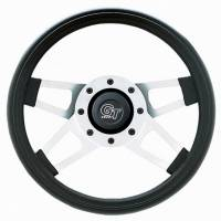 "Cockpit & Interior - Grant Steering Wheels - Grant Challenger Series Steering Wheel - 13 1/2"" - Black / White"