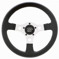 """Street Performance / Tuner Steering Wheels - Grant GT Steering Wheels - Grant Steering Wheels - Grant Formula GT Steering Wheel - 13"""" - Black / Silver"""
