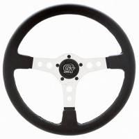 """Street Performance / Tuner Steering Wheels - Grant GT Steering Wheels - Grant Steering Wheels - Grant Formula GT Steering Wheel - 14"""" - Black / Silver"""