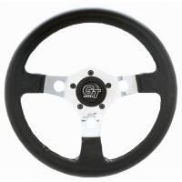"""Street Performance / Tuner Steering Wheels - Grant GT Steering Wheels - Grant Steering Wheels - Grant Formula GT Steering Wheel - 14"""" - Black / Aluminum"""