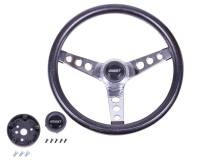"Recently Added Products - Grant Steering Wheels - Grant Steering Wheels Classic Steering Wheel 13-1/2"" Diameter 3-Spoke Black Foam Grip - Steel"