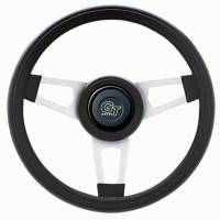 "Interior & Cockpit - Grant Products - Grant Challenger Steering Wheel - 13 3/4"" - Black / White"