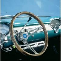 """Street Performance / Tuner Steering Wheels - Grant Classic Steering Wheels - Grant Steering Wheels - Grant Classic Nostalgia GM Steering Wheel - 15"""" - Walnut"""