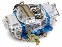 Carburetors - Street Performance - Holley Double Pumper Model 4150 Carburetors - Holley Performance Products - Holley 850 CFM Ultra Double Pumper Carburetor - Silver/Blue