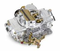 Street and Strip Carburetors - Holley Model 4160 Non-Adjustable Float Carburetors - Holley Performance Products - Holley Performance Carburetor 600 CFM 4160 Aluminum Series