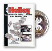 Books, Video & Software - Air & Fuel Delivery Books - Holley Performance Products - Holley Carburetor Installation and Tuning DVD