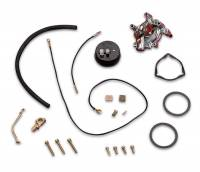 Carburetor Service Parts - Choke Kits - Holley Performance Products - Holley Choke Conversion Kit - Shiny Finish