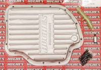 Transmission Accessories - Transmission Pans - Hughes Performance - Hughes Aluminum Transmission Pan Deep GM TH400