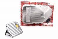 Hughes Performance - Hughes Performance Deep Sump Transmission Pan Finned Adds 2-4 qt Capacity Aluminum - Natural