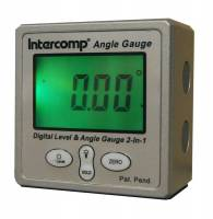 Measuring Tools & Levels - Angle Finders & Levels - Intercomp - Intercomp Digital Angle Gauge