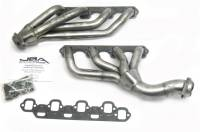 Shorty Headers - Small Block Ford Shorty Headers - JBA Performance Exhaust - JBA Stainless Steel Headers - 65-73 Mustang w/ Cltch Cable