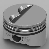 "KB Performance Pistons - KB Performance Pistons KB Series Piston Hypereutectic 4.000"" Bore 5/64 x 5/64 x 3/16"" Ring Grooves - Minus 7.0 cc"
