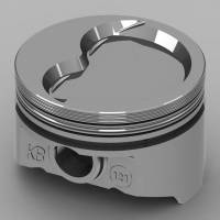 "KB Performance Pistons - KB Performance Pistons KB Series Piston Hypereutectic 4.030"" Bore 1/16 x 1/16 x 3/16"" Ring Grooves - Minus 28.0 cc"