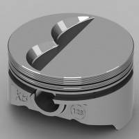 "KB Performance Pistons - KB Performance Pistons KB Series Piston Hypereutectic 4.155"" Bore 1/16 x 1/16 x 3/16"" Ring Grooves - Minus 7.0 cc"