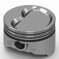 "KB Performance Pistons - KB Performance Pistons KB Series Piston Hypereutectic 4.155"" Bore 5/64 x 5/64 x 3/16"" Ring Grooves - Minus 22.0 cc"