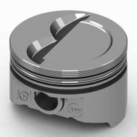 "KB Performance Pistons - KB Performance Pistons KB Series Piston Hypereutectic 4.000"" Bore 5/64 x 5/64 x 3/16"" Ring Grooves - Minus 12.0 cc"