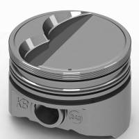 "KB Performance Pistons - KB Performance Pistons KB Series Piston Hypereutectic 4.080"" Bore 5/64 x 5/64 x 3/16"" Ring Grooves - Minus 6.0 cc"