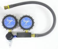 Engine Tools - Leakdown Testers - Kinsler Fuel Injection - Kinsler Fuel Injection Dual Gauge Leak Down Tester Mechanical - Analog