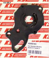 Recently Added Products - KSE Racing Products - KSE Racing Products Aluminum Power Steering Pump Bracket Black Anodize - KSE Tandem/TandemX Power Steering