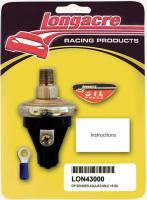 "Cockpit & Interior - Longacre Racing Products - Longacre 15-50 PSI Oil Pressure 1/8"" NPT Sender Only"