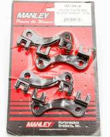 "Recently Added Products - Manley Performance - Manley Performance 7/16"" Pushrod Pushrod Guide Plate Raised Steel Black Oxide - Big Block Chevy"