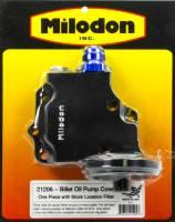 Oil Pump Components - Oil Pump Covers - Milodon - Milodon Billet Oil Pump Cover & Filter Boss - Hemi