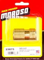 Oil Accumulator - Oil Accumulator Parts & Accessories - Moroso Performance Products - Moroso One Way Oil Check Valve