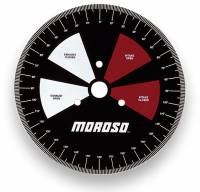 Camshaft Tools - Cam Degree Wheels - Moroso Performance Products - Moroso 11 Wheel - Primarily for In-Car Use At The Track - Handy Size