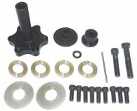 "Recently Added Products - Moroso Performance Products - Moroso Performance Products 4"" Long Mandrel Crank Mandrel Drive Kit Guides/Hardware/Spacers Aluminum Black Anodize - Small Block Chevy"