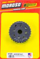 Water Pump Pulleys - Gilmer Water Pump Pulleys - Moroso Performance Products - Moroso Electric Water Pump Pulley