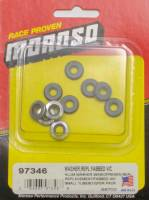 Engine Hardware and Fasteners - Valve Cover Washers - Moroso Performance Products - Moroso Replacement Washers for Fabricated Valve Covers (10 Pack)