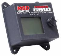 Ignition Systems - Rev Limiters - MSD - MSD Power Grid Ignition System Manual Launch Control For (7730)