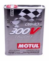 Recently Added Products - Motul - Motul 300V Trophy Motor Oil 0W40 Synthetic 2 L - Each