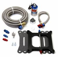 Air & Fuel System - Nitrous Oxide Systems (NOS) - NOS Big Shot Single Stage Upgrade Kit - Converts Single Holley Cheater Kit -