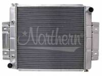 """Recently Added Products - Northern Radiator - Northern Radiator 23-3/4"""" W x 19-5/8"""" H x 3-1/8"""" D Radiator Pass Inlet/Driver Outlet Aluminum Natural - Stock Motor"""