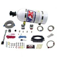 Air & Fuel System - Nitrous Express - Nitrous Express (NX) LS 90mm Plate Nitrous System with 10lb Bottle
