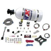 Nitrous Oxide - Nitrous Oxide Systems - Nitrous Express - Nitrous Express Ford 4.6L Plate - Nitrous System w/ 10 lb. Bottle and Brackets
