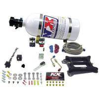 Nitrous Oxide Systems and Components - Nitrous Oxide Systems - Nitrous Express - Nitrous Express Phase 3 Conventional Plate Nitrous System w/ 10 lb. Bottle and Brackets