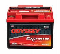 "Recently Added Products - Odyssey Battery - Odyssey Battery AGM Battery 12V 480 Cranking Amps Top Post Screw"" Terminals - 6.64"" L x 5.04"" H x 7.05"" W"