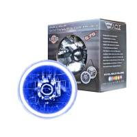 """Headlights and Components - Headlight Bulbs - Oracle Lighting Technologies - Oracle Lighting Technologies Sealed Beam Headlight 5-3/4"""" OD Halo LED Ring Requires H4 Bulb"""