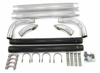 Exhaust Components - Exhaust Side Pipes - Patriot Exhaust - Patriot Chrome Side Pipes - 50""