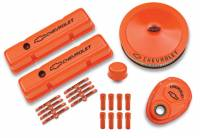 Engine Components - Engine Dress-Up Kits - Proform Performance Parts - Proform SB Chevy Orange Dress-Up Kit