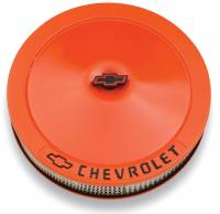 "Air & Fuel System - Proform Parts - Proform 14"" Air Cleaner - Orange"