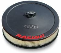 "Air & Fuel System - Proform Parts - Proform Air Cleaner - Ford Racing Emblem - 13"" Diameter"