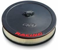 "Air & Fuel System - Proform Performance Parts - Proform Air Cleaner - Ford Racing Emblem - 13"" Diameter"