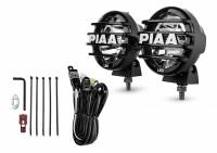 "Recently Added Products - PIAA - PIAA LP 550 Series -Driving Led Light Assembly 7 Watts 2 White LED 5"" Diameter - Surface Mount"
