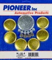 Engine Components - Pioneer Automotive Products - Pioneer 390 Ford Freeze Plug Kit - Brass