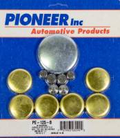 Engine Components - Pioneer Automotive Products - Pioneer 460 Ford Freeze Plug Kit - Brass