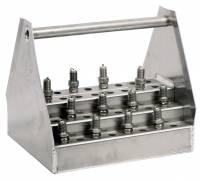 Trailer Storage Racks - Spark Plug Rack - Pit Pal Products - Pit Pal Jr. Plug Caddy