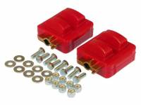 Street Performance USA - Prothane Motion Control - Prothane Motor Mount Kit - Red